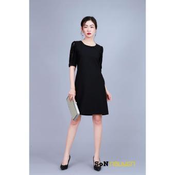 ĐẦM SUÔNG PHỐI TAY REN 22203