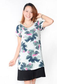 Đầm Suông Xẻ Tà AlohaFashion