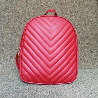 Ba lô thời trang da PU cao cấp BL03 (Đỏ)