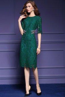 Đầm Ôm Ren Sang Trọng