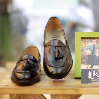 Giày loafer nam cao cấp Kazin màu đen - KZD0024