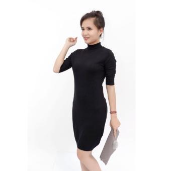 Đầm len Tezenis dáng dài tay lỡ 2017