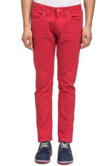 Bellfield Men's Pants Red
