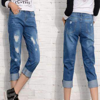 Quần jean kiểu dáng STREET STYLE cá tính cho bạn gái - 126