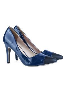 Giày cao gót nữ LARA HMF889 (Xanh)