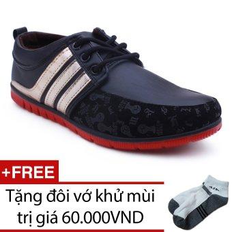 Giày Nam Sneaker TINTO 1601DE + Tặng 1 đôi vớ khử mùi