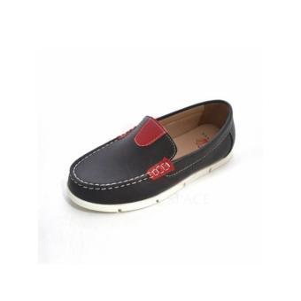 Giày lười bé trai cao cấp CRUK416