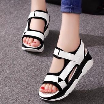 Giày Sandal cá tính S047T (Trắng)