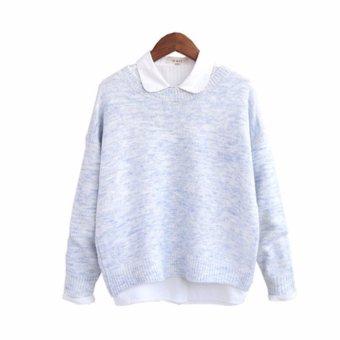 Áo len cardigan nữ tay dài LTTA150 (Xanh)