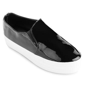 Giày bata nữ Sarisiu XT742 (Si Đen)