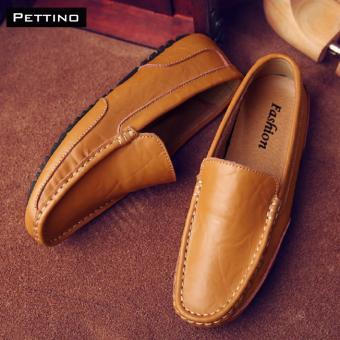 Giày Lười Nam Cao Cấp - Pettino GL-02 (nâu)