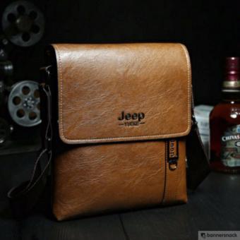 Túi đeo chéo nam thời trang Jeep - Nâu Vàng