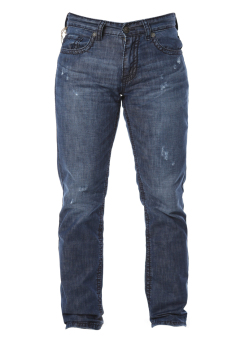 Quần jeans nam ống đứng mài xước MAD 7298