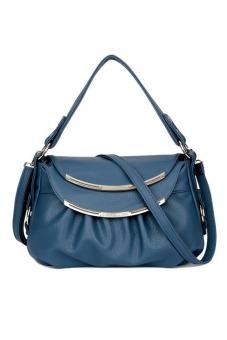 Túi xách tay nữ da thật Thành Long TLG T817-2 (xanh)