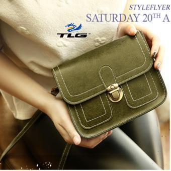 Túi nữ thời trang phong cách Hàn Quốc Thành Long TL8085-2(xanh)