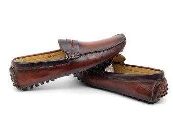 Giày Lười Nam Cao Cấp Antoni Fernando - AF-001-1 - Nâu
