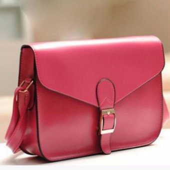Womens Fashion Soft PU Leather Top-handle Bag Removable Tote Handbag Bag Cross Body Shoulder Bags - intl