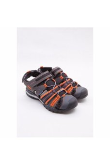 Giày sneakers Geox J Borealis B. C Black/Orange