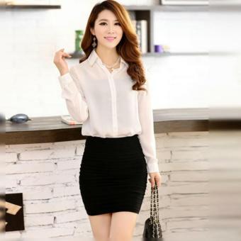 Áo Sơ Mi Nữ Kiểu Hàn Quốc SMN620909W - Màu Trắng