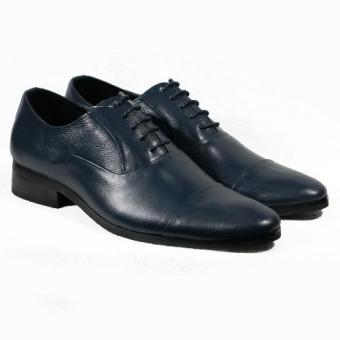 Giày tây cột dây đen Tathanium Footwear (Xanh Navy)