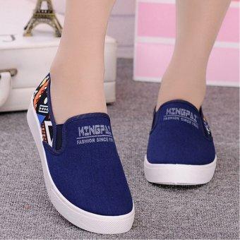 Giày nữ màu sắc 180 (Xanh lam)