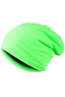 Unisex Hip-hop Beanie Hat (Green)