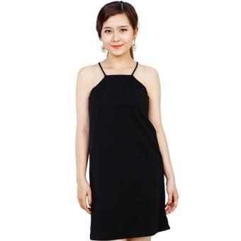 Đầm Manggo 2 dây cao cấp cho công sở