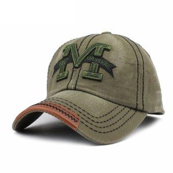 2016 New Men's Women Snapback Golf Baseball Cap Hip-Hop Brim Bboy Hat Adjustable - Intl