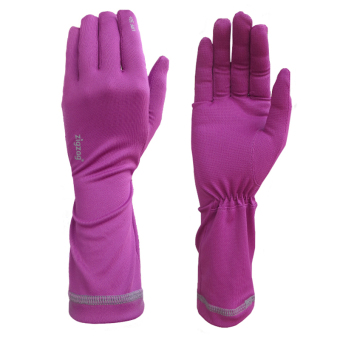 zigzag GLV00308- Găng tay chống nắng UPF50+ (Tím)