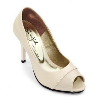 Giày cao gót 9 phân Om Fashion 921 (Kem)