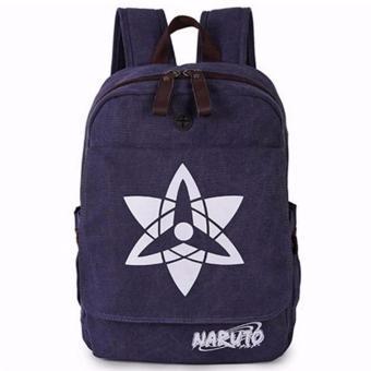 Ba Lô Vải Thô Naruto Tâm Bình N3-X1 (Xanh Đậm)