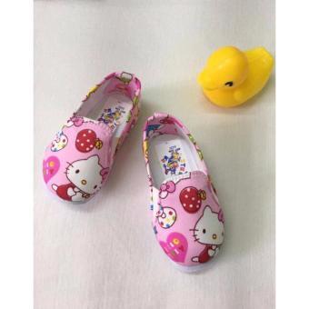 Giày Vải Hello Kitty Cho Bé