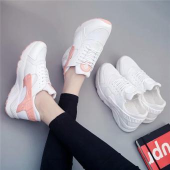 Giày thể thao nữ đế siêu êm, nhẹ - GiayKS - HRC003 (trắng)