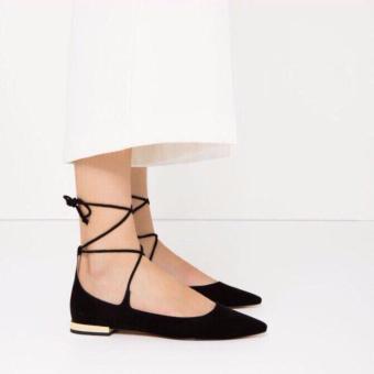 Giày Búp Bê (Đen)