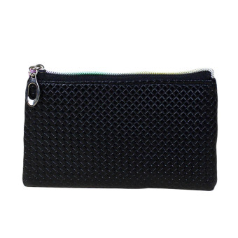 Women Fashion Leather Wallet Black