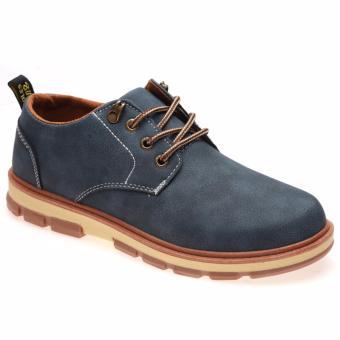 Giày Bốt Nam Thời Trang Hnp Gn047 (Xanh Đen)