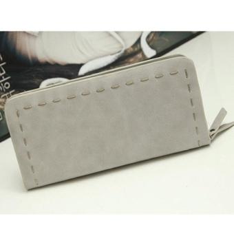 Lady Women Purse Clutch Wallet Short Small Bag Card Holder Red -intl