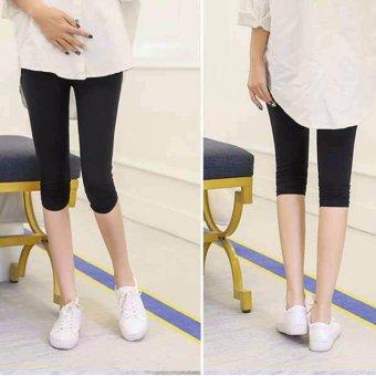 MDH-Quần legging bầu thời trang, lửng MDH-QB2606 (Đen)