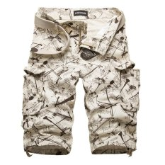 So Sánh Giá Men's Casual Army Cargo Camo Overall Beige – Intl – intl   UNIQUE AMANDA