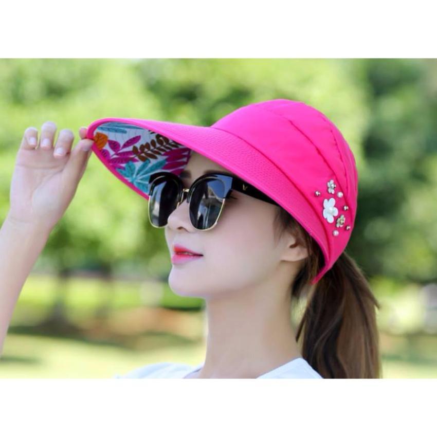 Hình ảnh Mũ nón chống nắng nữ thời trang sang trọng