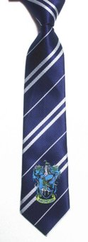 New Fashion Potter Harry Badge College Tie- Blue - intl