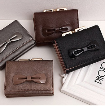 Premium PU Leather Multifunctional Fashion Women Wallet - intl