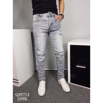 Quần Jeans nam thời trang, kiểu nam tính wash & rách - 8437449 , OE680FAAA4JBHVVNAMZ-8329069 , 224_OE680FAAA4JBHVVNAMZ-8329069 , 320000 , Quan-Jeans-nam-thoi-trang-kieu-nam-tinh-wash-rach-224_OE680FAAA4JBHVVNAMZ-8329069 , lazada.vn , Quần Jeans nam thời trang, kiểu nam tính wash & rách