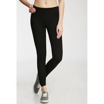 Quần legging nữ co dãn (đen)
