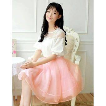 OE680FAAA5PNQAVNAMZ-10484254 - Set Áo Kiểu+ Chân Váy Xòe Công Chúa Hana Fashion
