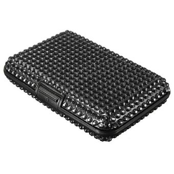 ... Fang Fang Soft Felt Credit Id Business Card Holder Dark Grey Source Sparkle Pretty Pocket Business