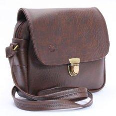 Túi đeo chéo LATA HN07 (Da nâu)