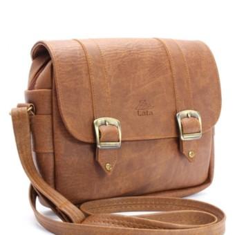 Túi đeo chéo LATA HN08 (Da bò nhạt)