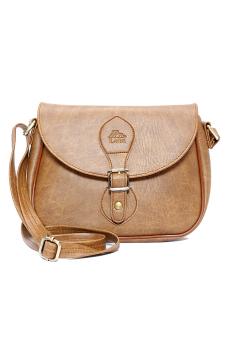 Túi đeo chéo LATA HN14 (Da bò nhạt )