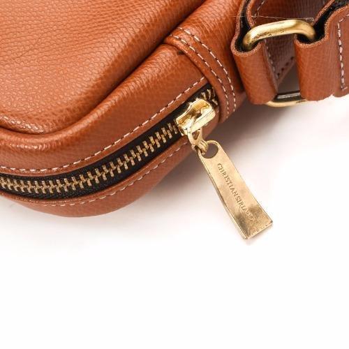 Túi đeo chéo nam da bò cao cấp D259B ( Nâu Bò)